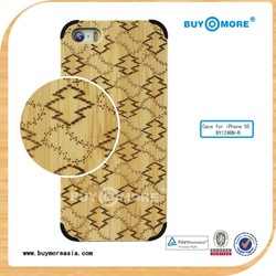 2014 new design for iphone 5/5s bamboo case