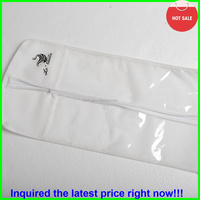 packaging bags for hair extension/promotional aluminum foil spout hair bags