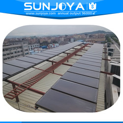 Flat-plate Hot Water Heating Pressurized Anodic Oxidation Solar Panel Low Cost