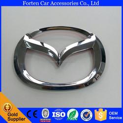 11.5cm 2014 2015 M3 Car ABS Chrome Silver Rear Trunk Badge Emblem