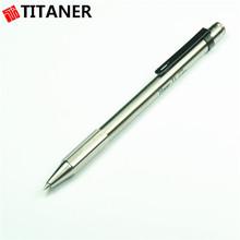 Factory Wholesale Ti Stationary Titanium Pen Pocket Clip Pens