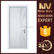 single room pvc wood door price for balcony ,new design door picture