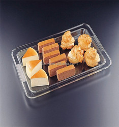 New arrival customized design plastic tray for food