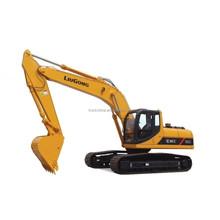 China construction machinery LIUGONG hydraulic crawler excavator for sale