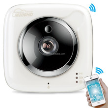 M2OOHD Two Way Audio 720P Cube IP Camera, Support Motion Detection Recording, Support Cloud Storage and Record