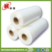 Hand or machine PE pallet stretch film/logistics wrapping film/plastic wrapping film
