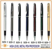 classic custom cap off metal gel ink roller/rollerball pen, copper/brass parts high level gift pen, heavy metal pen RP-929