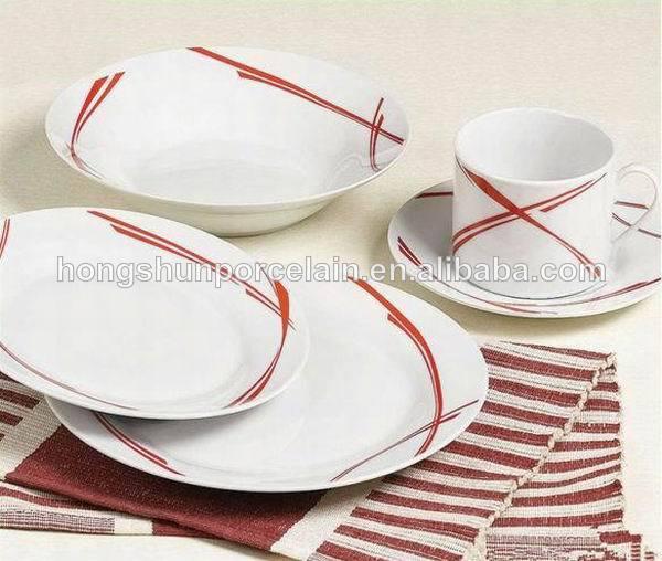 30 шт керамический набор посуды/посуда corelle