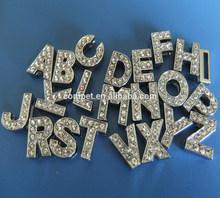 DIY 10mm Rhinestone Slide Letters