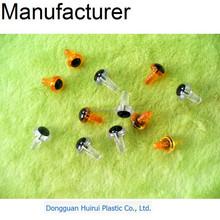 Excellent qualitiy small size safety plastic doll craft eyes for Amigurumi & Stuffed Animal Doll
