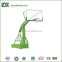 Sport professional equipment imitation hydraulic basketbal stand