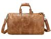 Alibaba china supplier fashion duffel bag mens leather travel bag organizer
