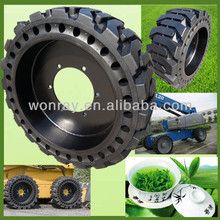 Well-reputed Chinese With Wheel 10 x 16.5 Bobcat Tires, 2 Piece Skid Steer Rims