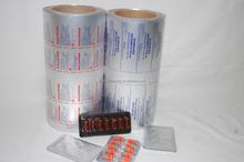 Blister use alu foil pack for pharmaceutical in tablets