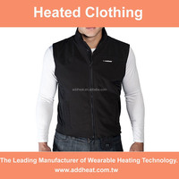 Mec ADDHEAT 12V Hybrid Heated Motorcycle Softshell Vest, OEM Waterproof Battery Heating Pad
