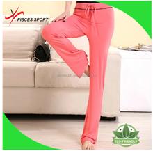 100% cotton loose fashion pants sports gym wear