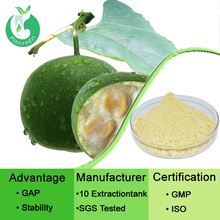 Pure Natural Monk Fruit P.E. High Sweetness Luo Han Guo Extract