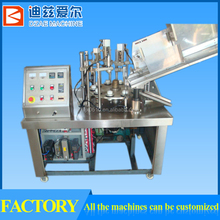 304 made plastic tube filling and sealing machine for cosmetic