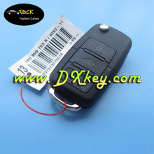 433Mhz, ID48chip 3 buttons car key remote for VW remote key VW universal key VW 1jo 959 753 AH