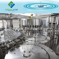 Automatic 350ml PET Bottle Still Water Bottling Line / Spring Water Filling Machine