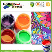 new products Eco friendly pigment latex for changing color fabric coloring