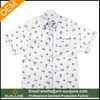 Cute printing pattern short sleeve wholesale button down shirts