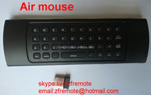 motion sensing air mouse 2.4G WIRELESS Air mouse Wireless keyboard Motion sensing game Voice function with mini USB