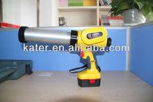 Plastic tube caulking gun for sealant
