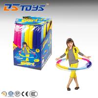 Wholesale plastic detachable fitness hula hoop for children
