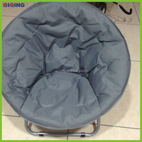 Folding portable round moon chair for indoor and outdoor leisure HQ-9002-76