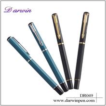 2015 school supplies wholesale roller pen metal roller pen/ roller ball pen