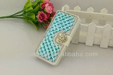 Luxury beaded cell phone case for Iphone 5