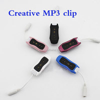 Manufacturer of 4 g swimming IPX8 waterproof MP3 creative MP3 summer surfing MP3 clip running water movement