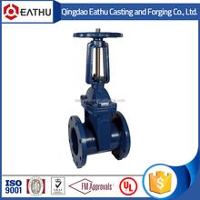 ductile iron rising stem gate valve