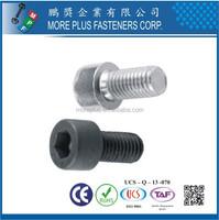 Taiwan DIN Standard Stainless M2 Precise Hexagon Socket Knurled Round Head Screw Socket Head Cap Screw