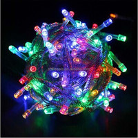 Wholesale Factory Price 10M 100LEDs LED Christmas Lights DHL Free Shipping