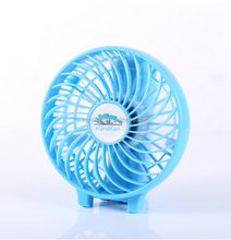3 ranges portable 18650 li-ion Battery Rechargeable hand fan for camping and outdoor activities