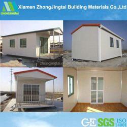 Fast building Low cost, high quality prefab house lightweight EPS cement sandwich wall panel building system.