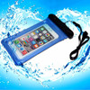 Promotional high quality free sample mobile phone pvc waterproof pouch