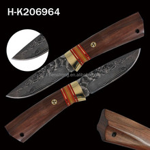 High end quality fixed blade hot sale knives for men