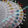 decorativos 55mm lágrima pearl cabeza de floristería pin