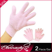 Factory Wholesale Colors Essential Oil Hand Spa Gel Moisturizing Gloves, Hand Care Latex Gloves, Pro Care Gloves