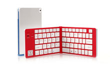 Factory direct sell foldable bluetooth Keyboard, bluetooth folding keyboard