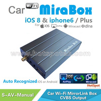 Compatible with phone Airplay mirror & Andorid miracast mirrorlink car dvd radio
