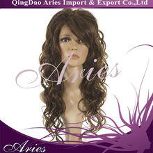 Korean Synthetic Hair Loose Curly Wigs Beauty lace Front Wig