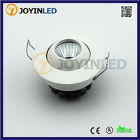3W 2015 new products mini dimmable 3w cob led spot