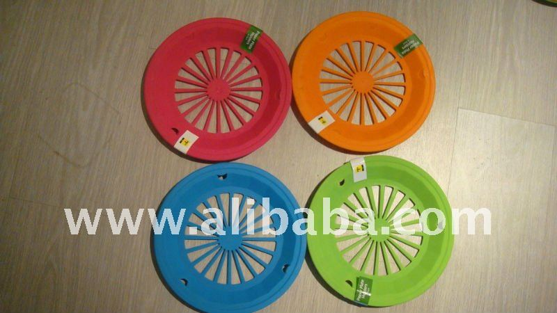 paper plate holders plastic