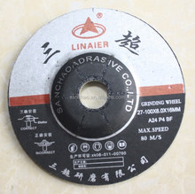 Depressed bond diamond grinding wheel