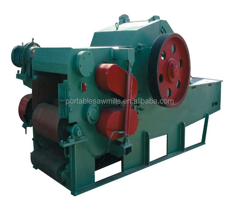 Wood Chipper With Electric Motor Sawdust Wood Chipper Industrial Wood Chipper Shredder - Buy ...
