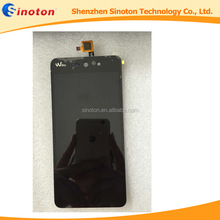 Original For Wiko Rainbow up lcd display, for wiko rainbow up lcd Touch Screen Digitizer black